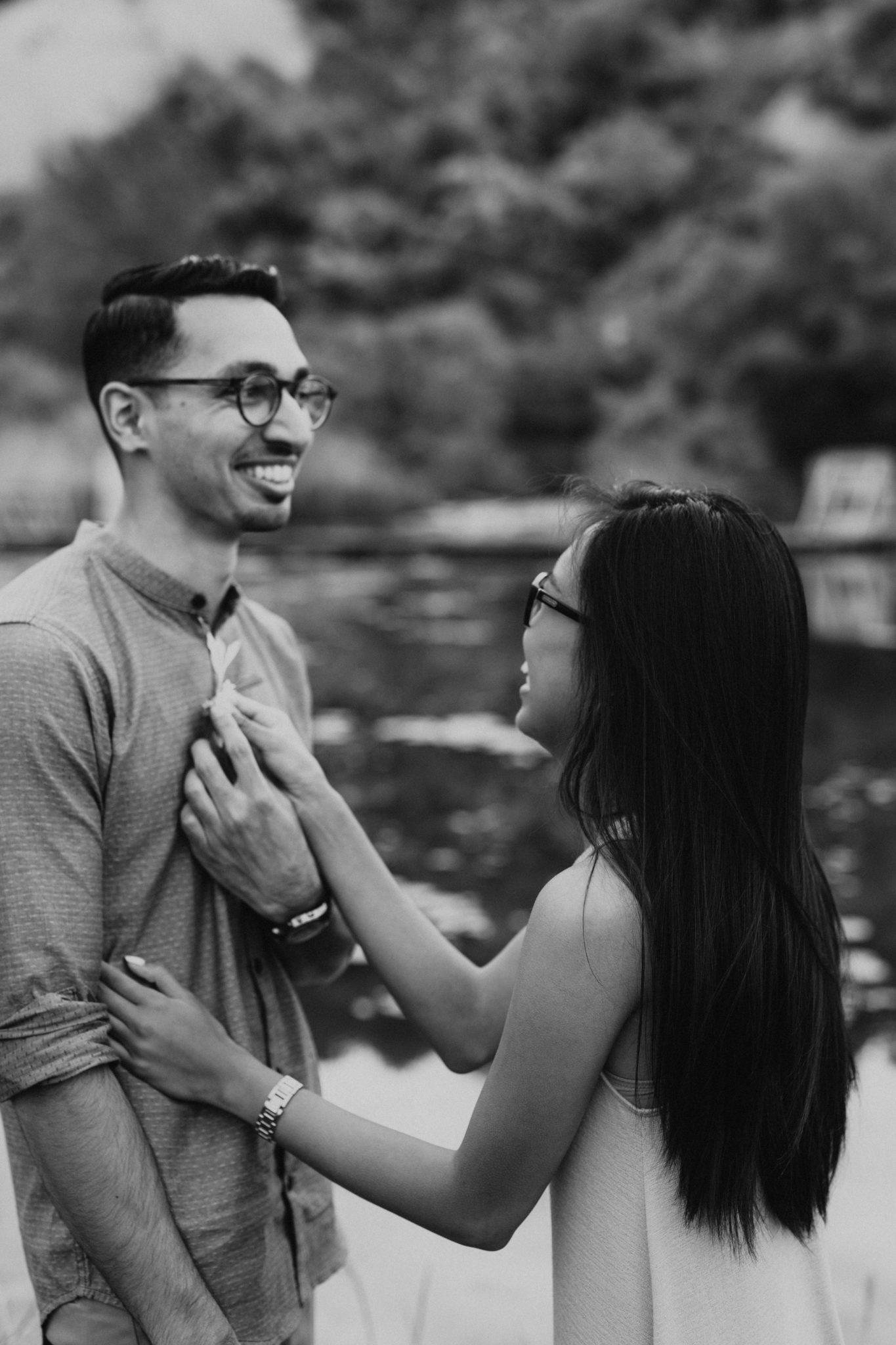toronto engagement photoshoot
