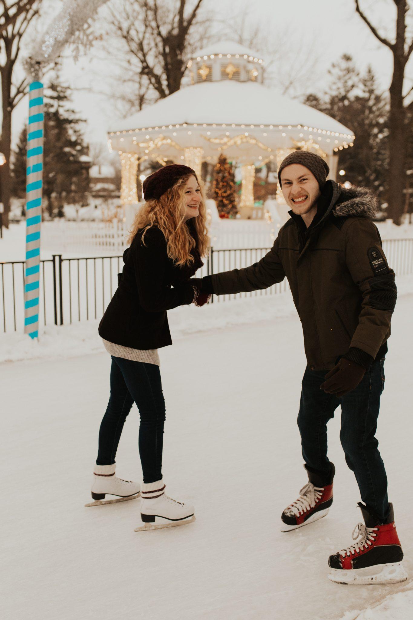 engagement skating