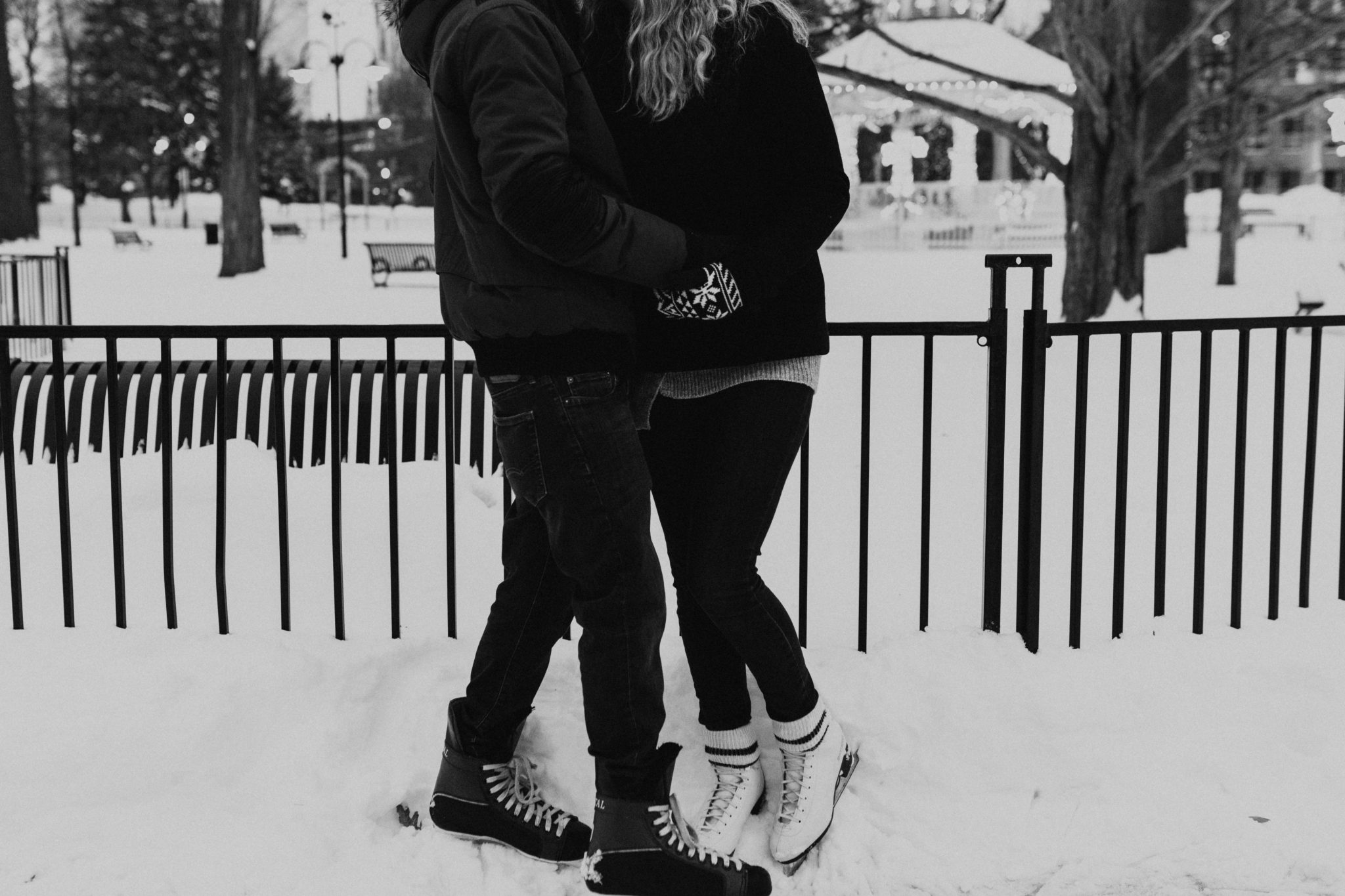 skate engagement photoshoot