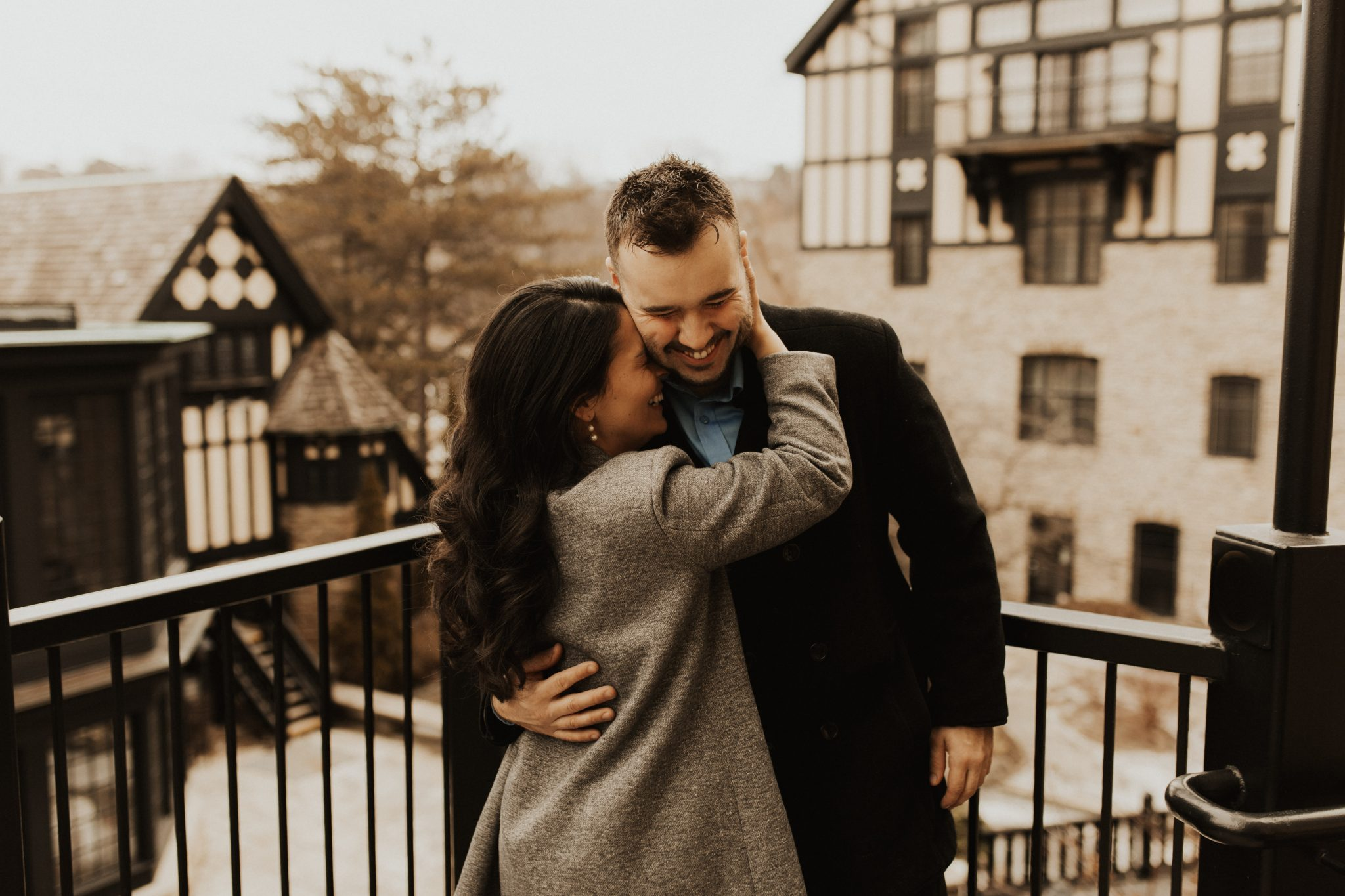 Old Mill Toronto engagement
