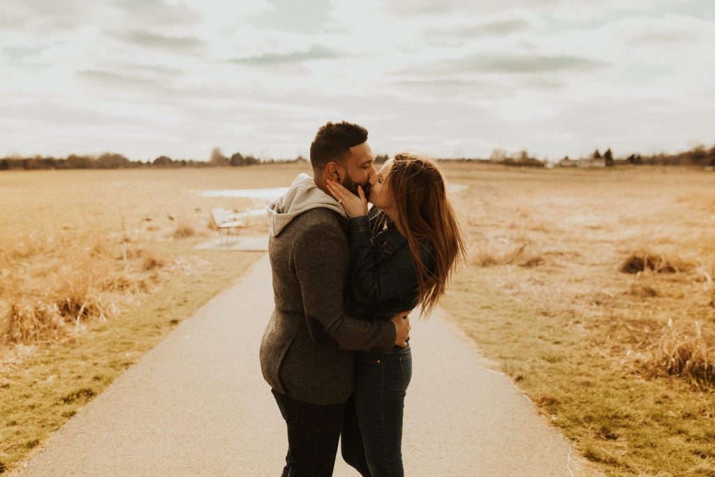 Whitby engagement photos