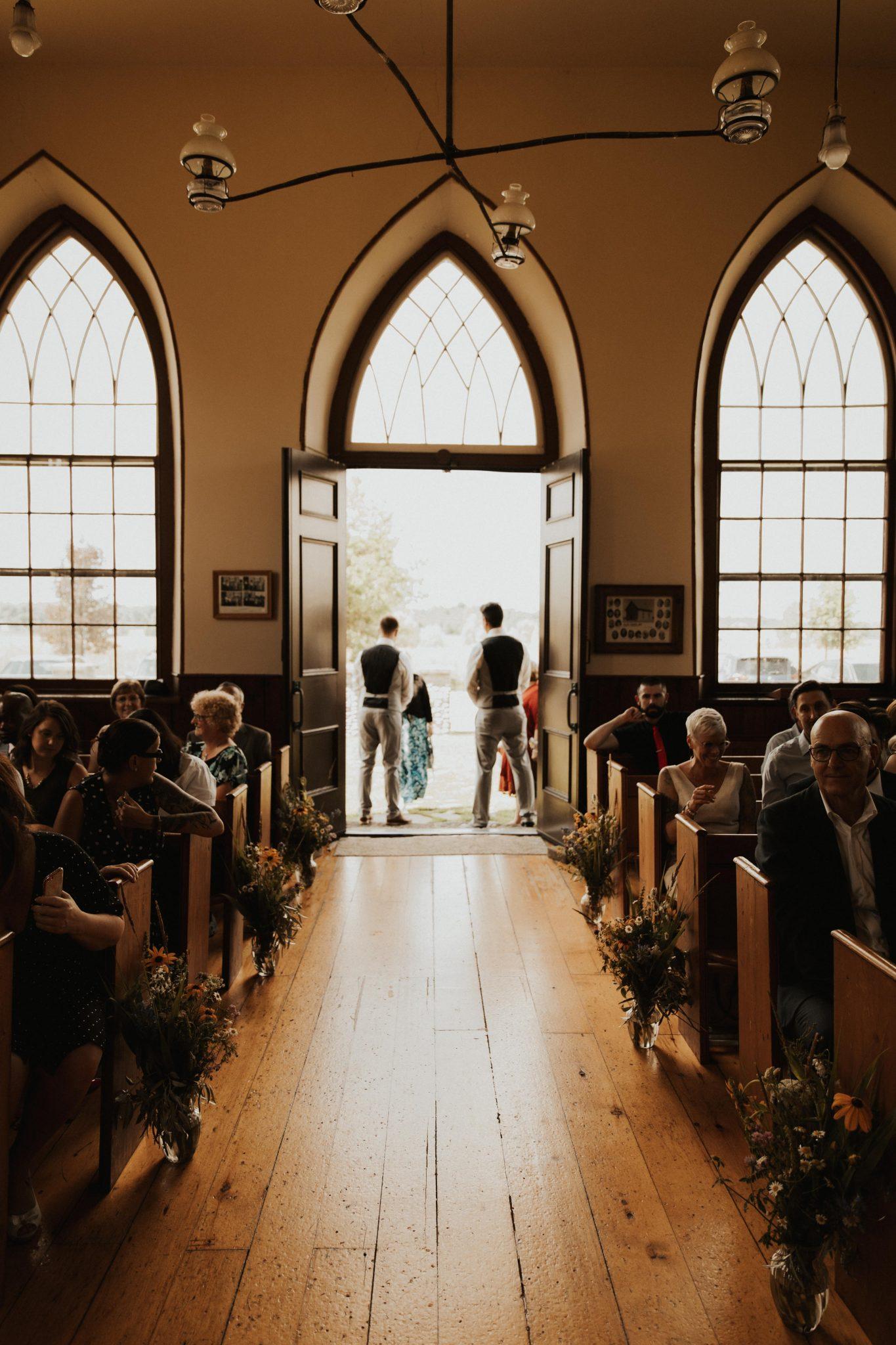 Ellis Chapel wedding