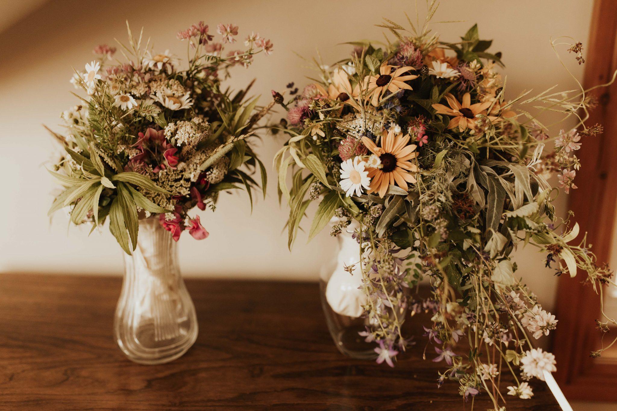 wedding wildflower bouquet