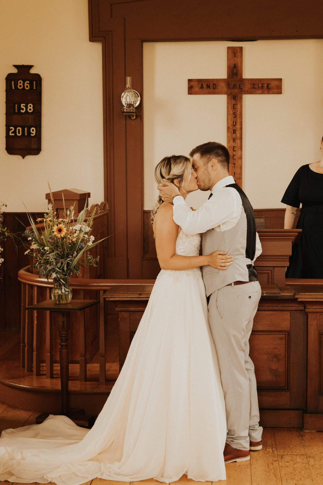 Ellis Chapel wedding