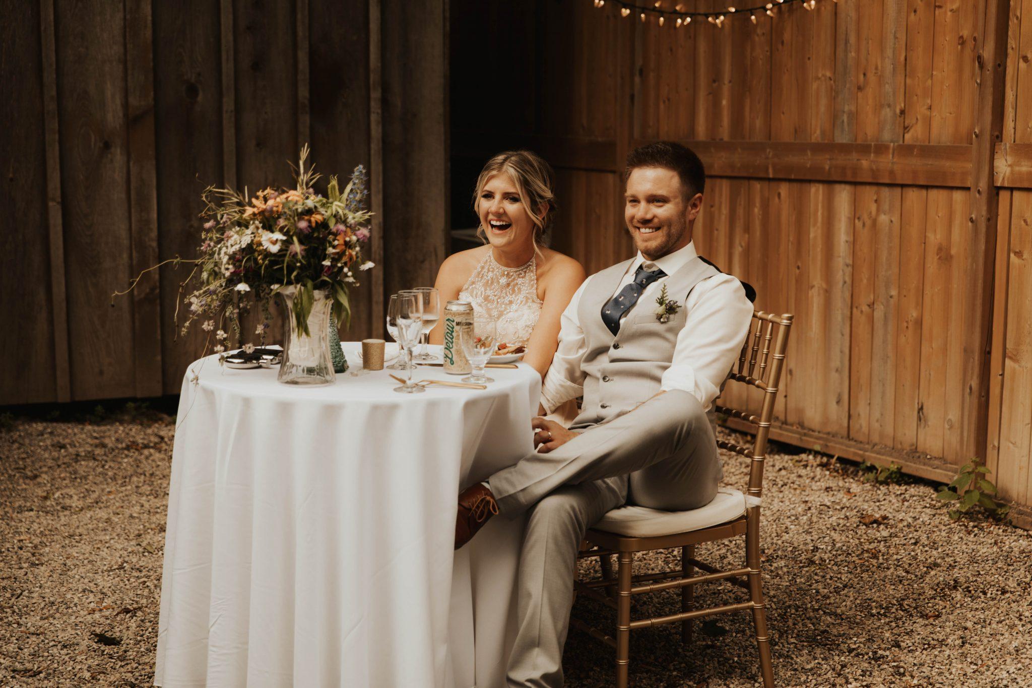 Stratford wedding reception