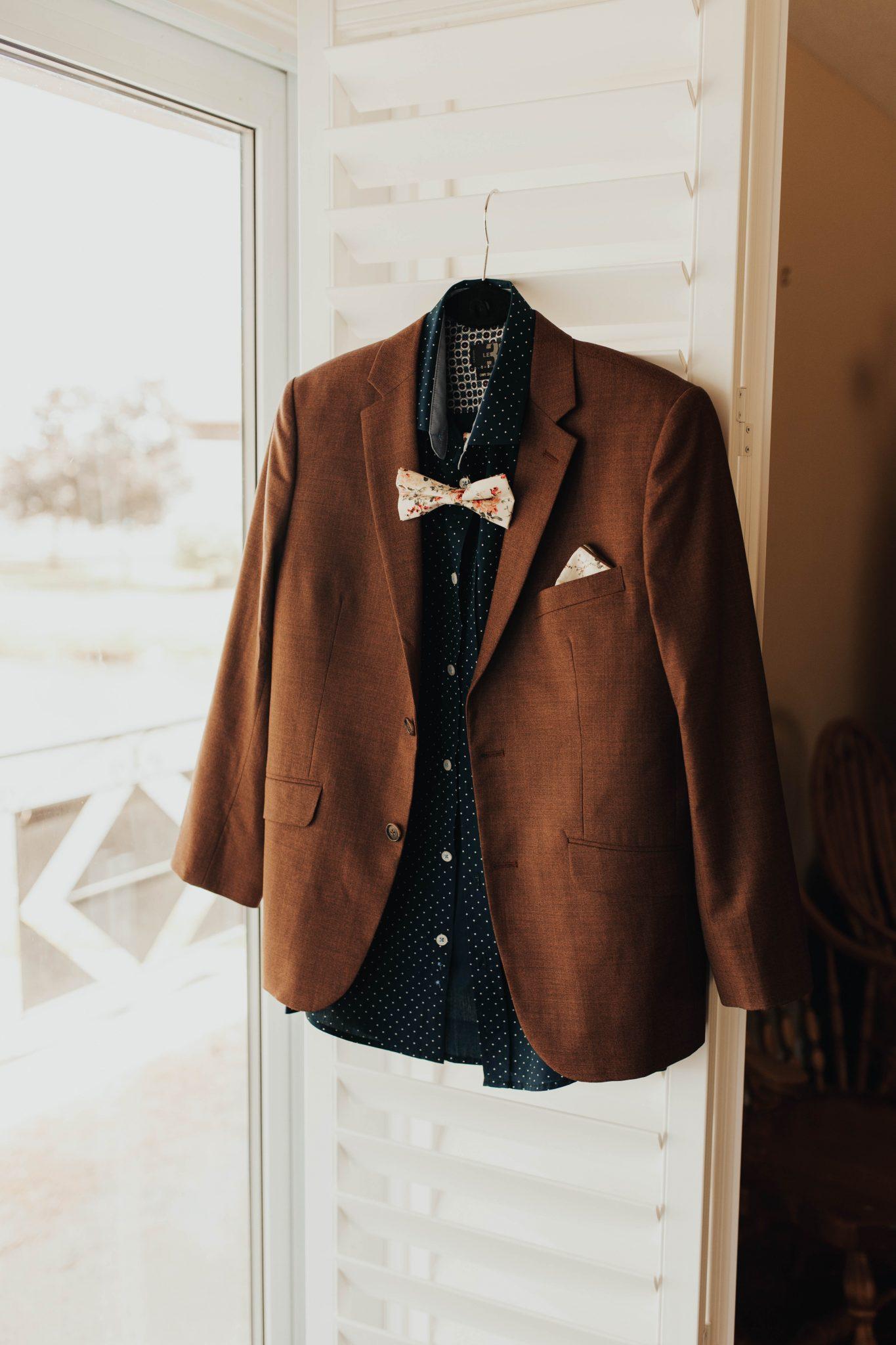 vintage wedding tux