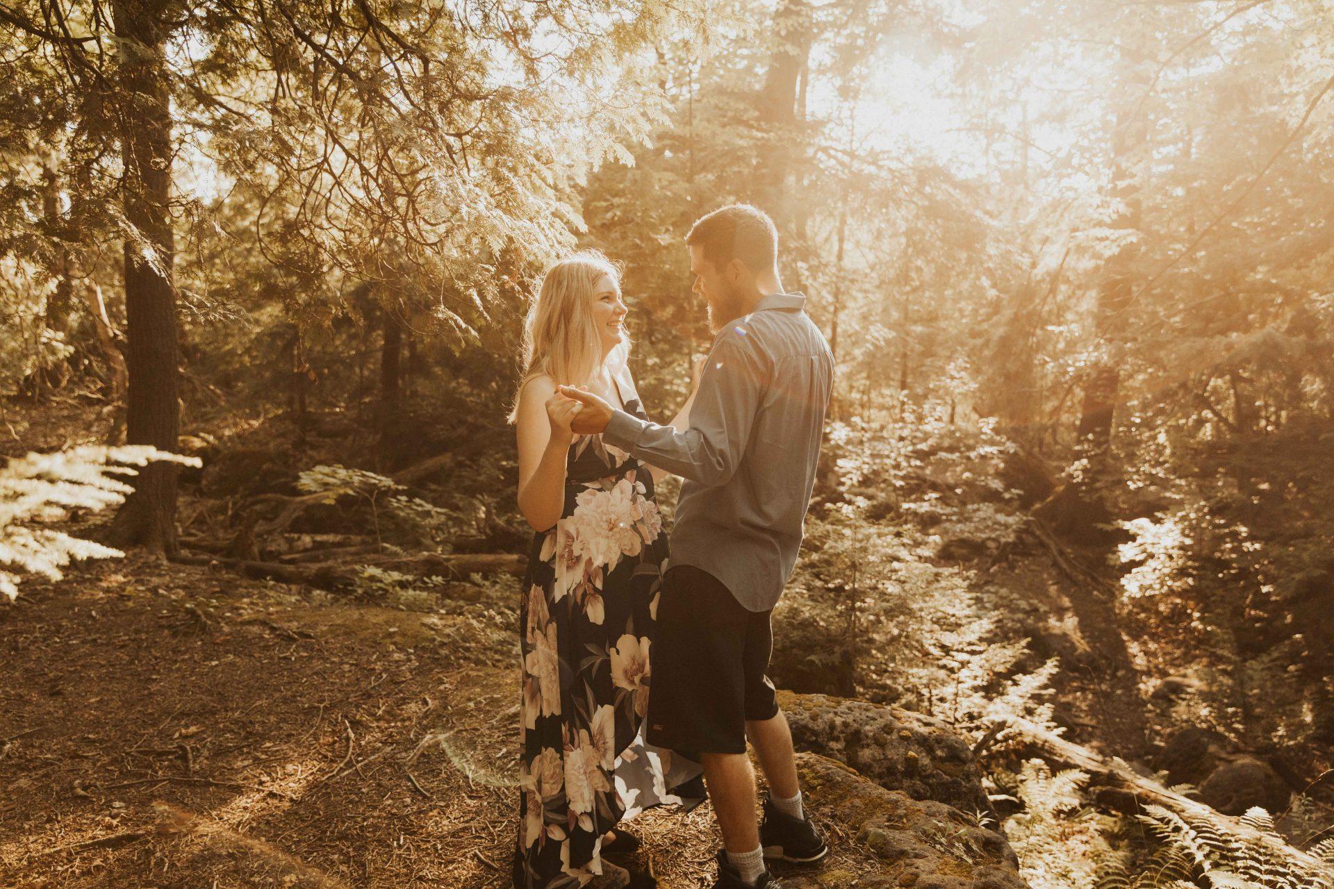 Inglis falls engagement