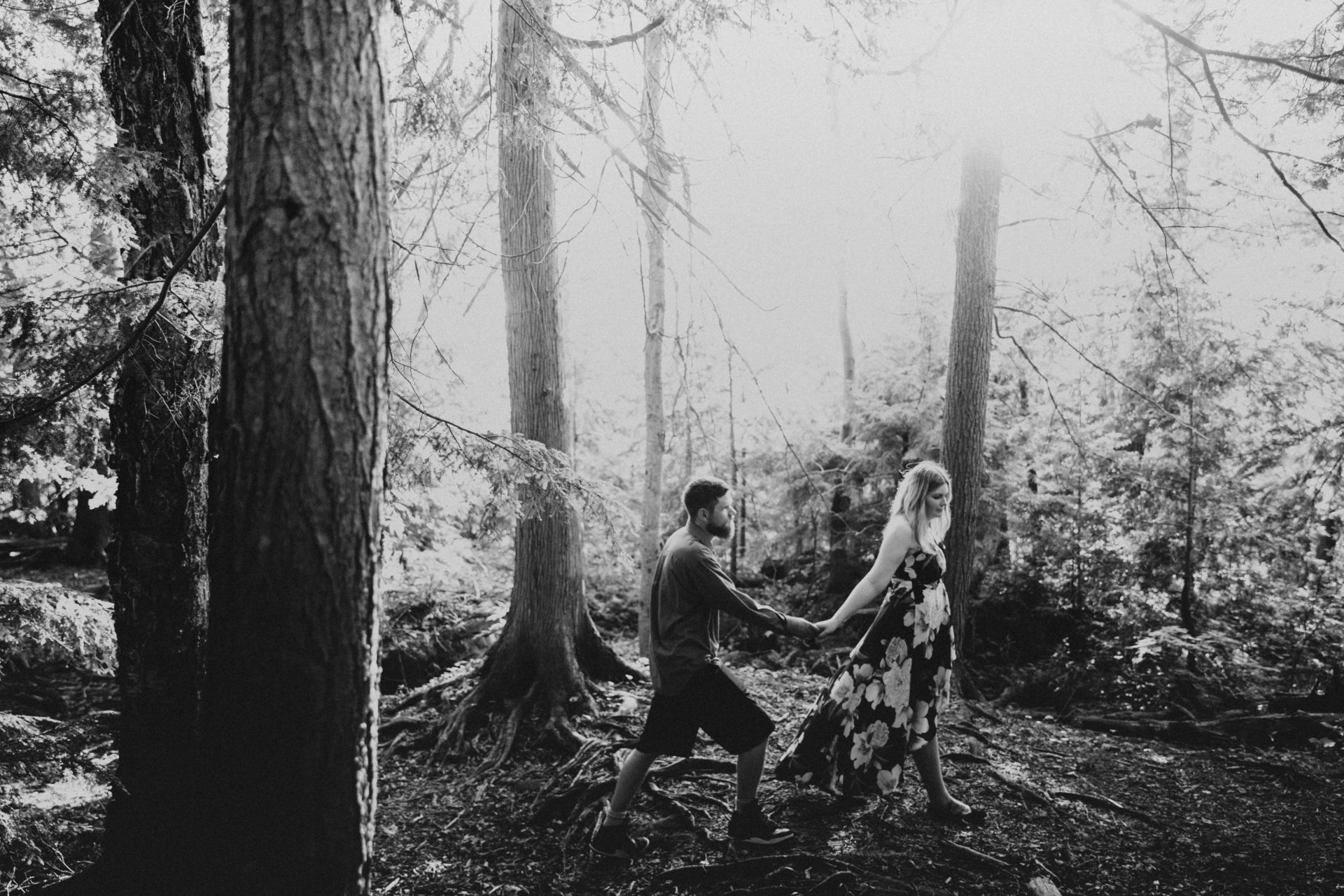 grey county engagement photos