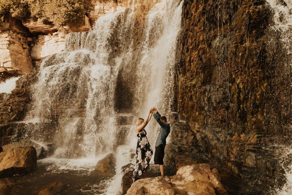 waterfall engagement