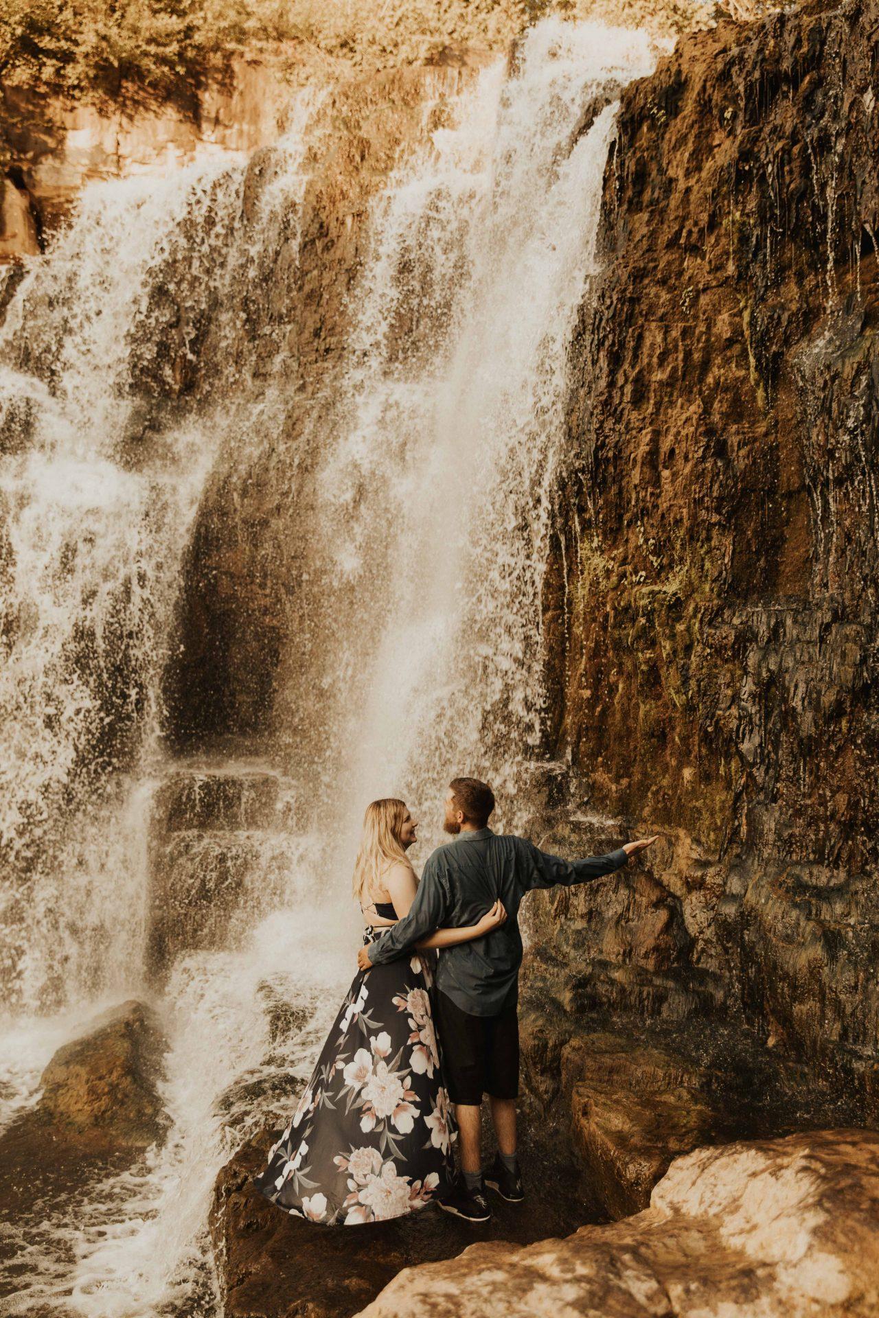 Inglis falls photoshoot