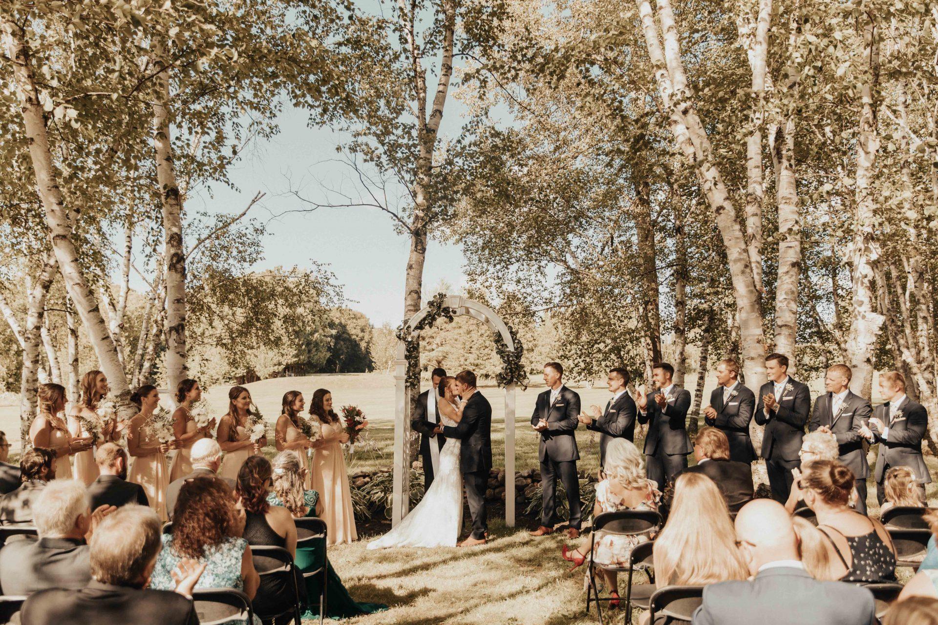 Orr Lake golf club wedding