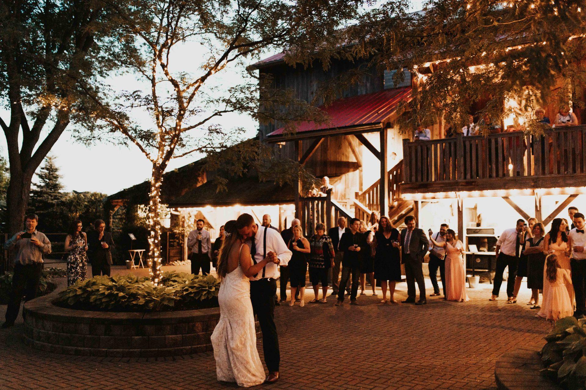 Belcroft estate barn wedding
