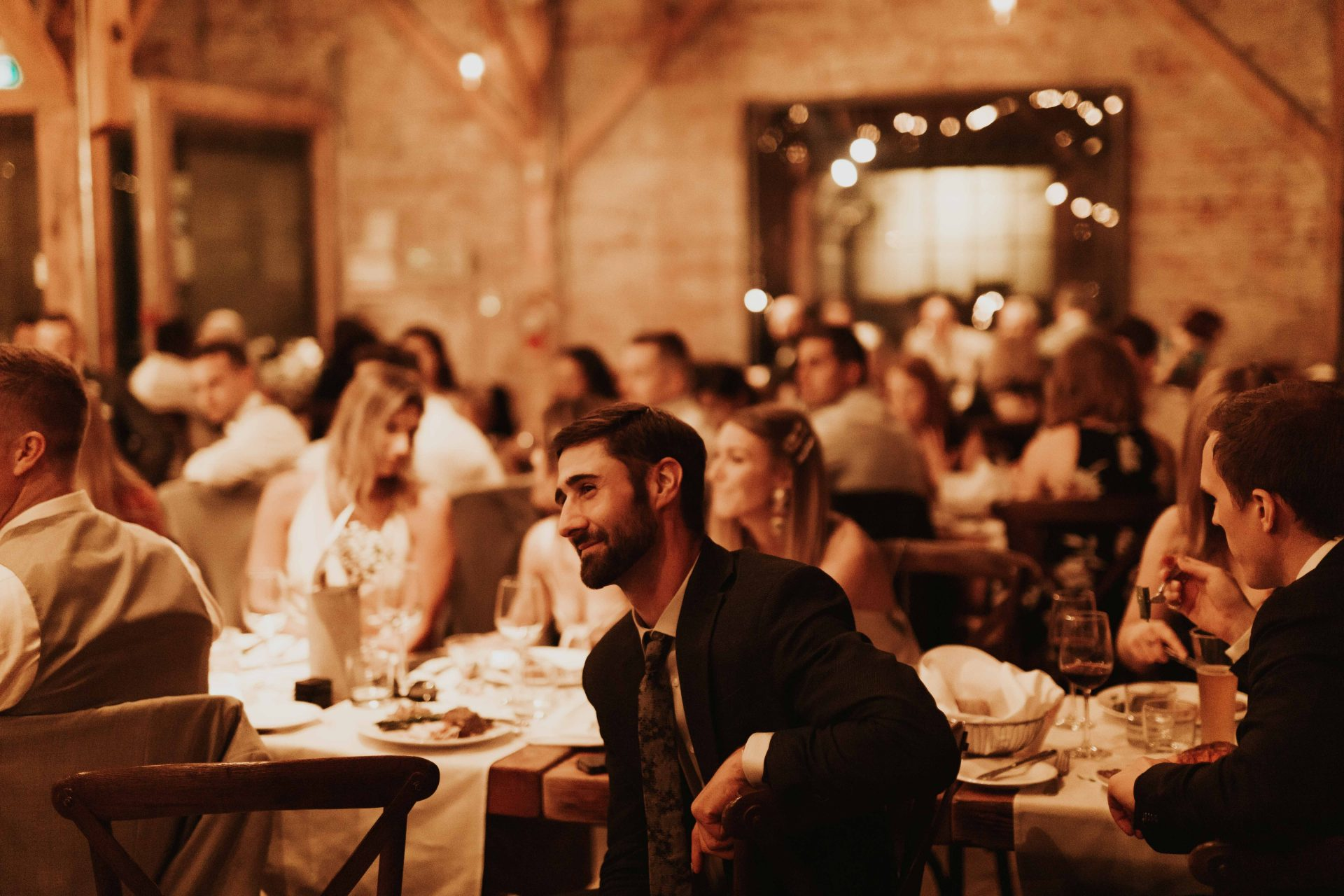 toronto distillery district wedding reception