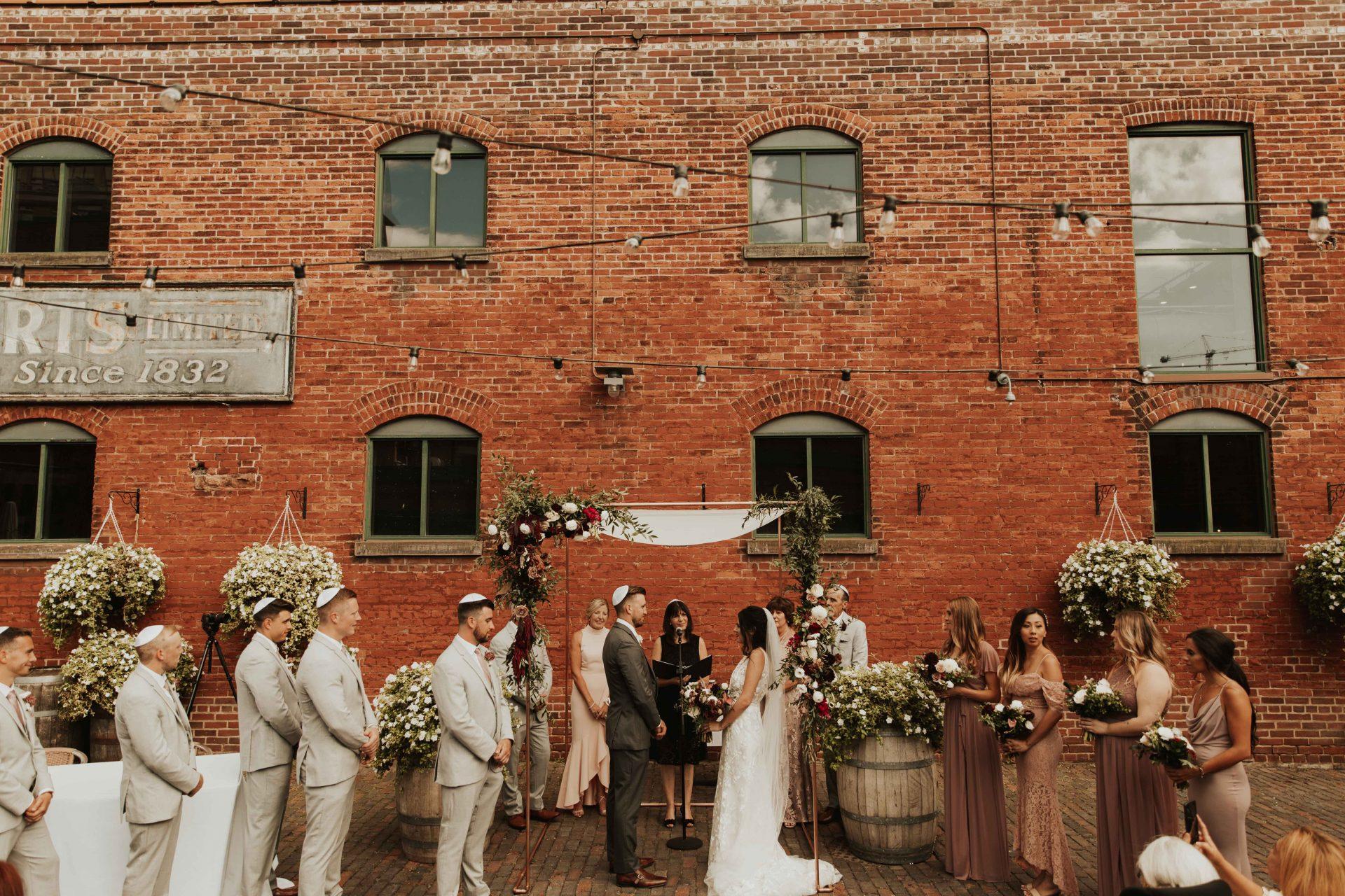 archeo wedding ceremony