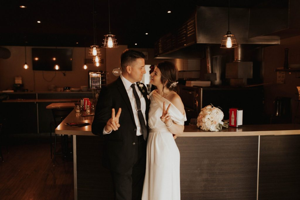 port credit wedding photos