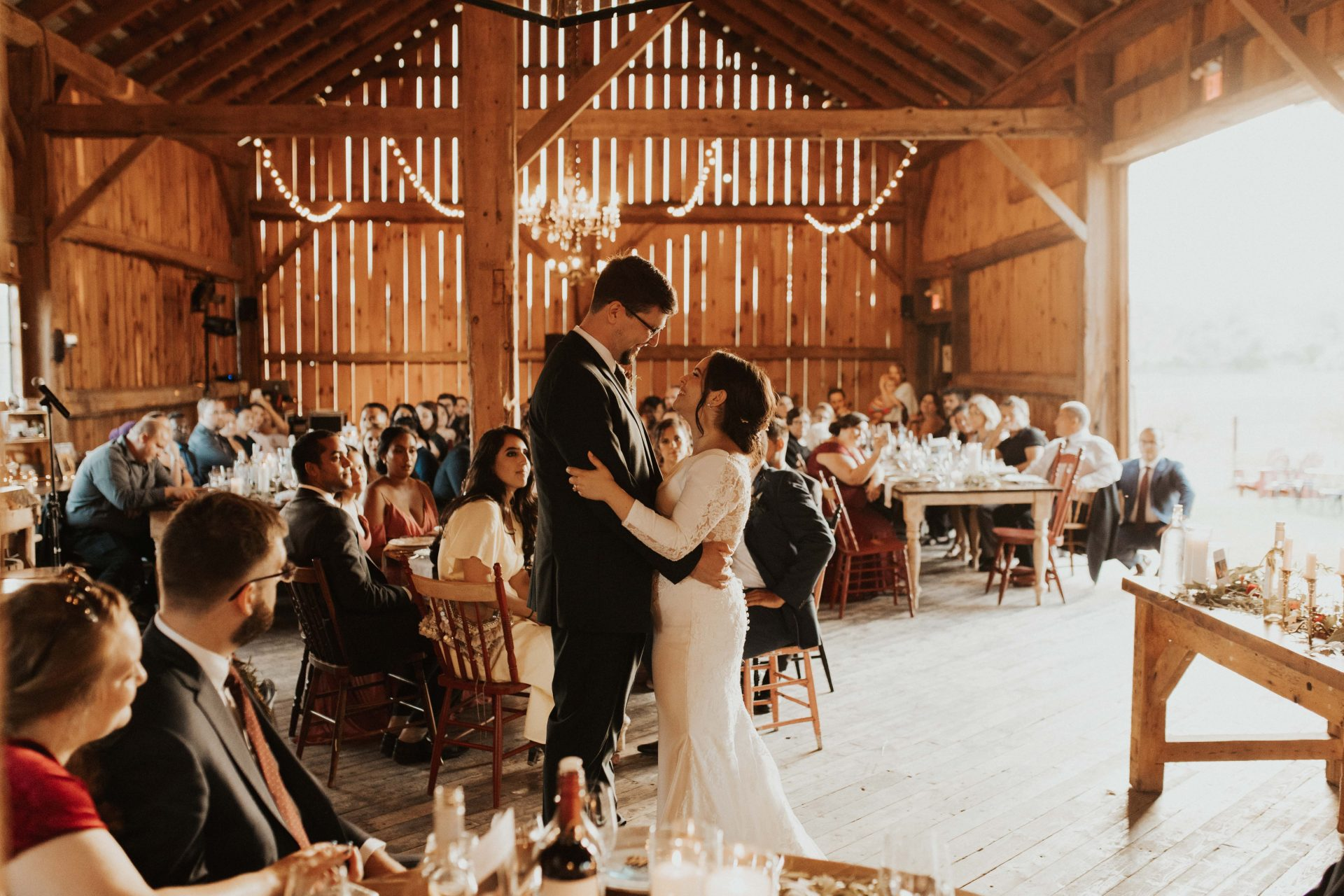 south pond farms barn wedding