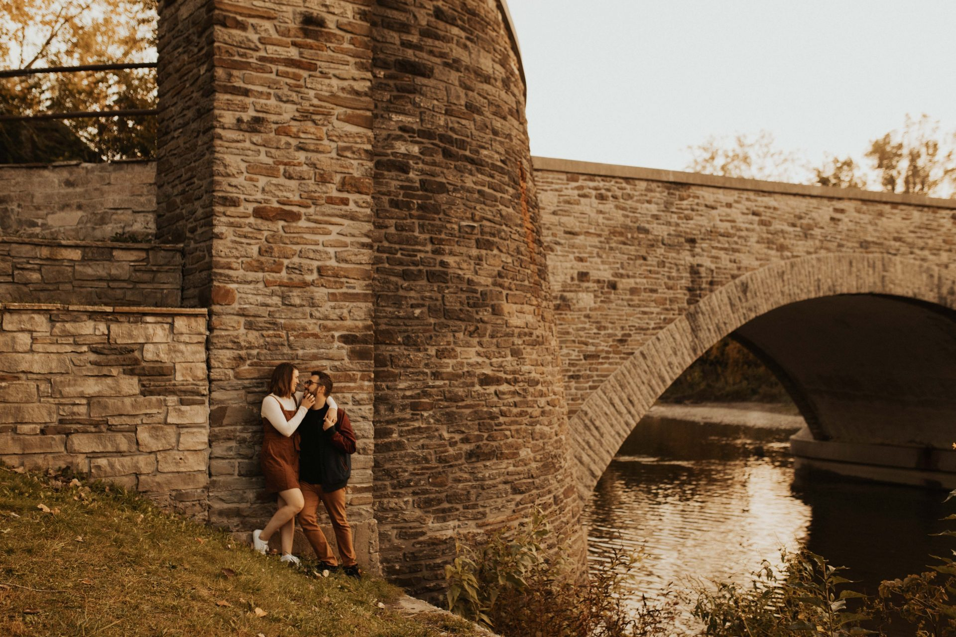 old mill Toronto engagement photos