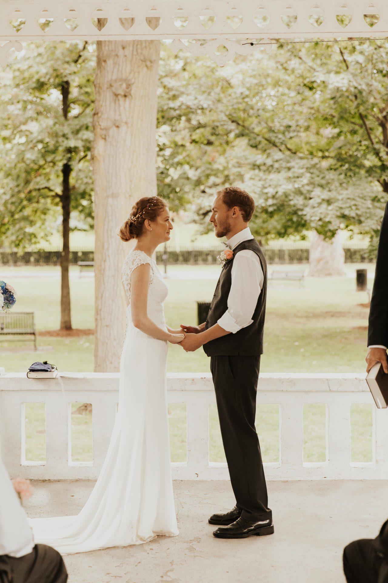 gage park gazebo wedding