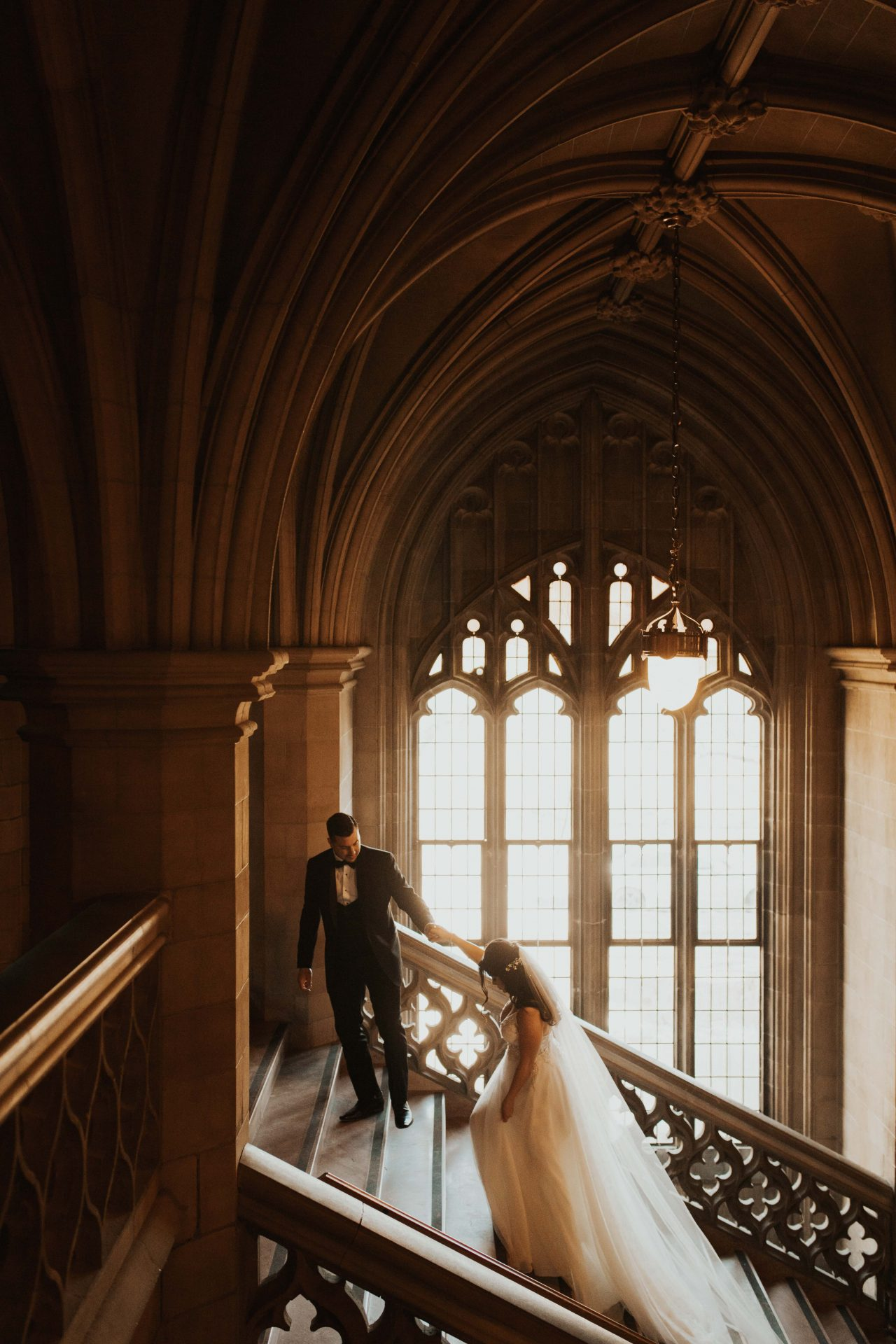 Knox College wedding photos