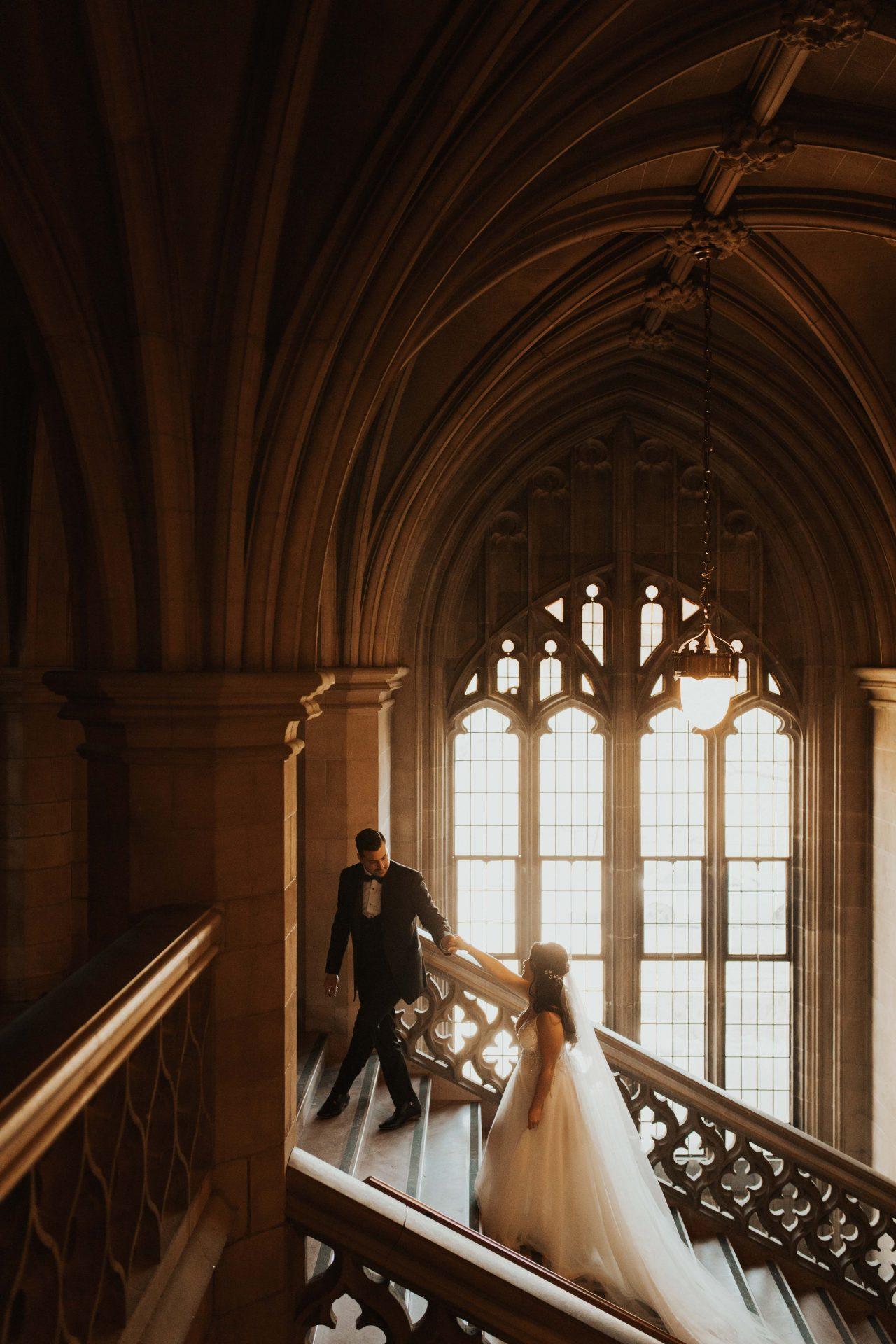 Knox College UofT wedding photos