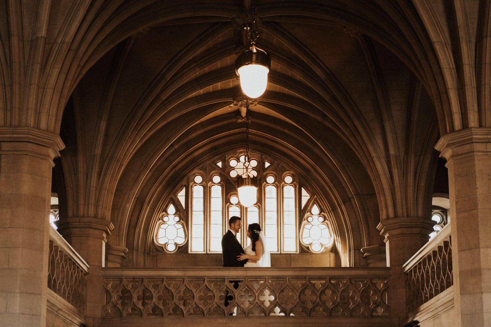 Knox College wedding