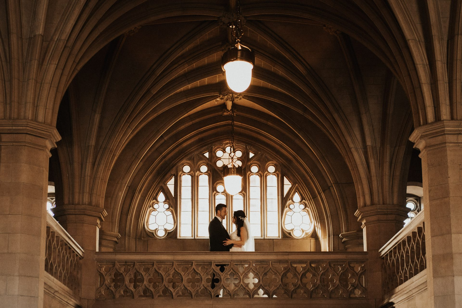 Knox College wedding