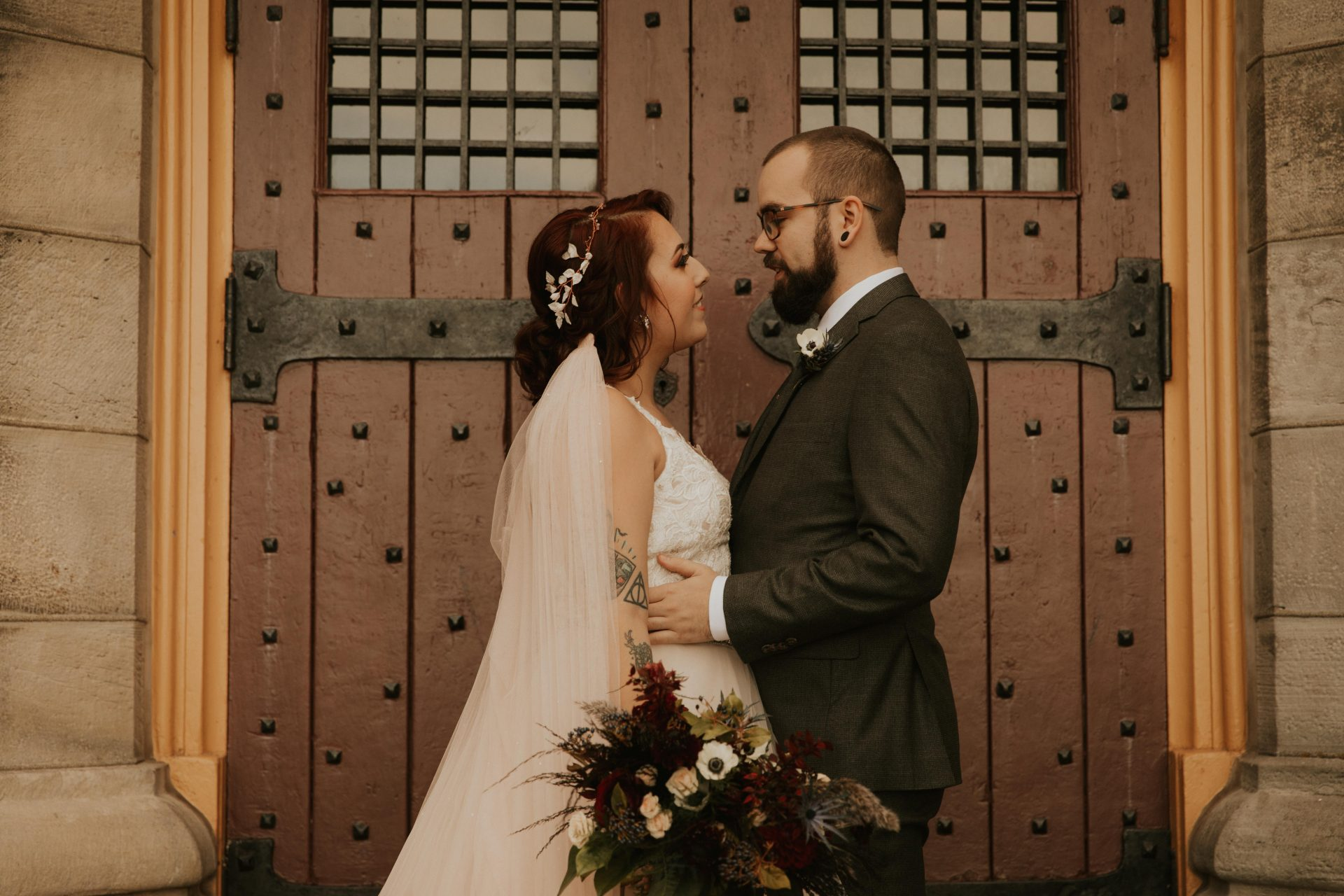 battlefield house museum wedding photos