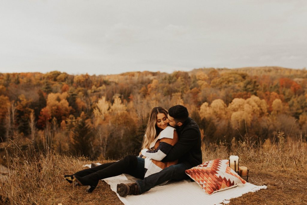 rouge valley engagement photos