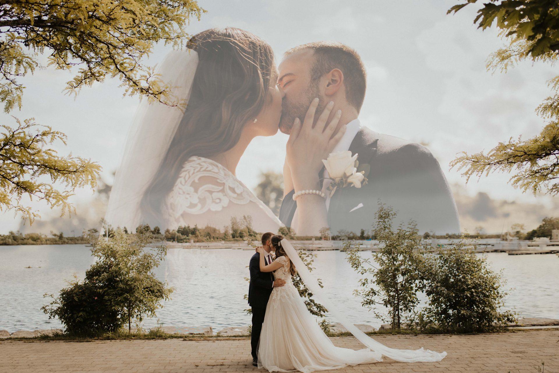 colonel samuel smith park toronto wedding photos