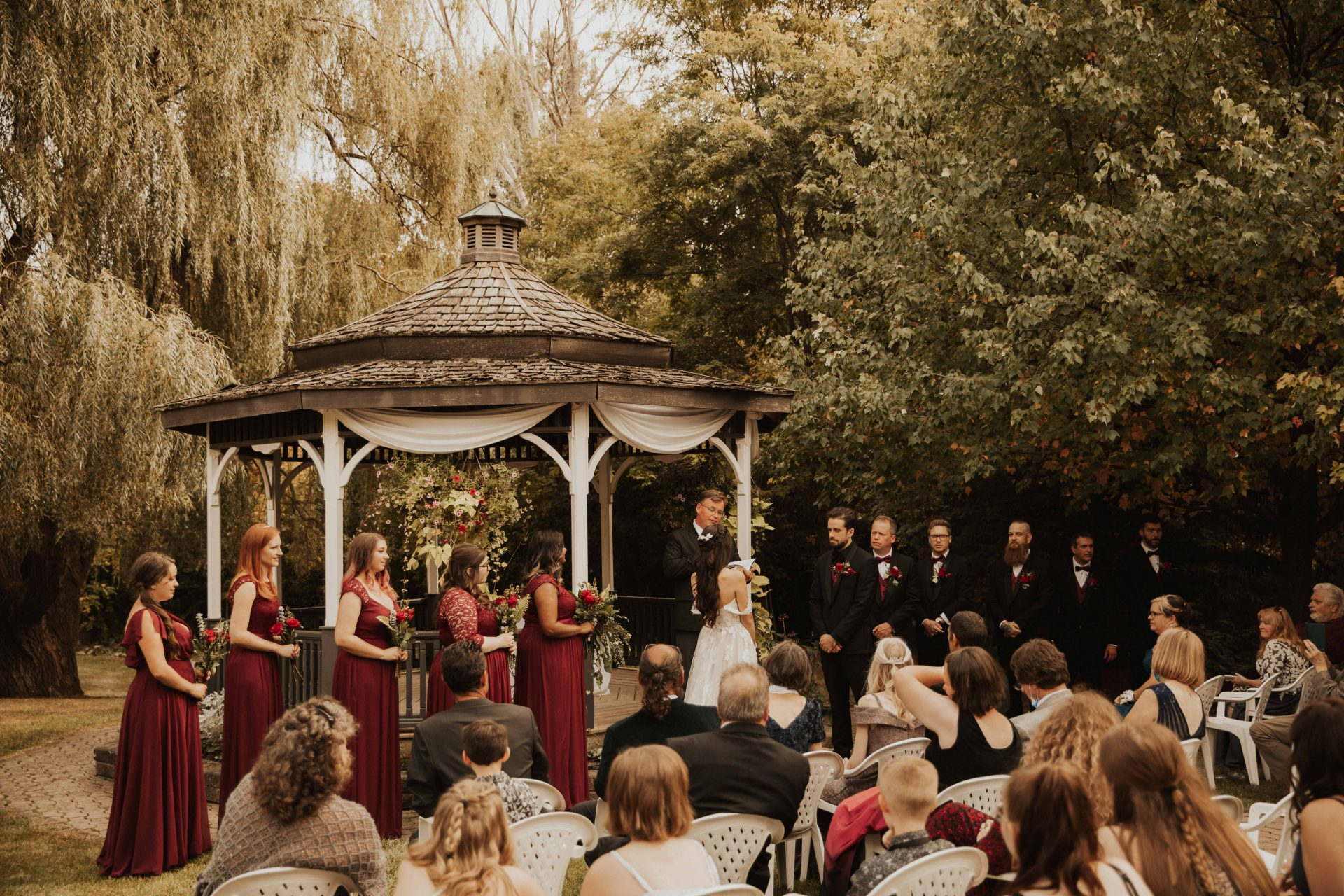 carls catering the glen wedding photos