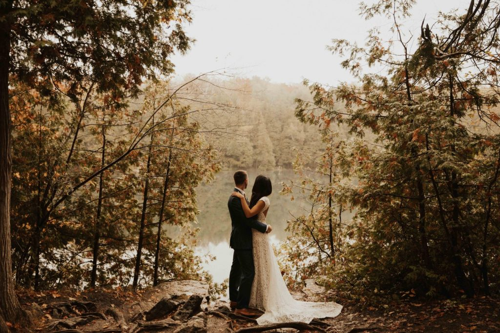 Crawford Lake wedding photos
