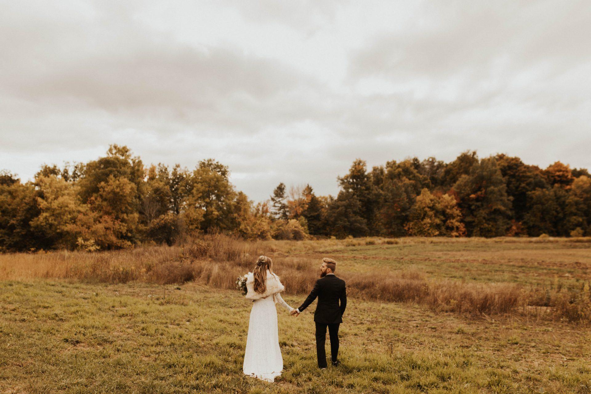 intimate Hamilton wedding