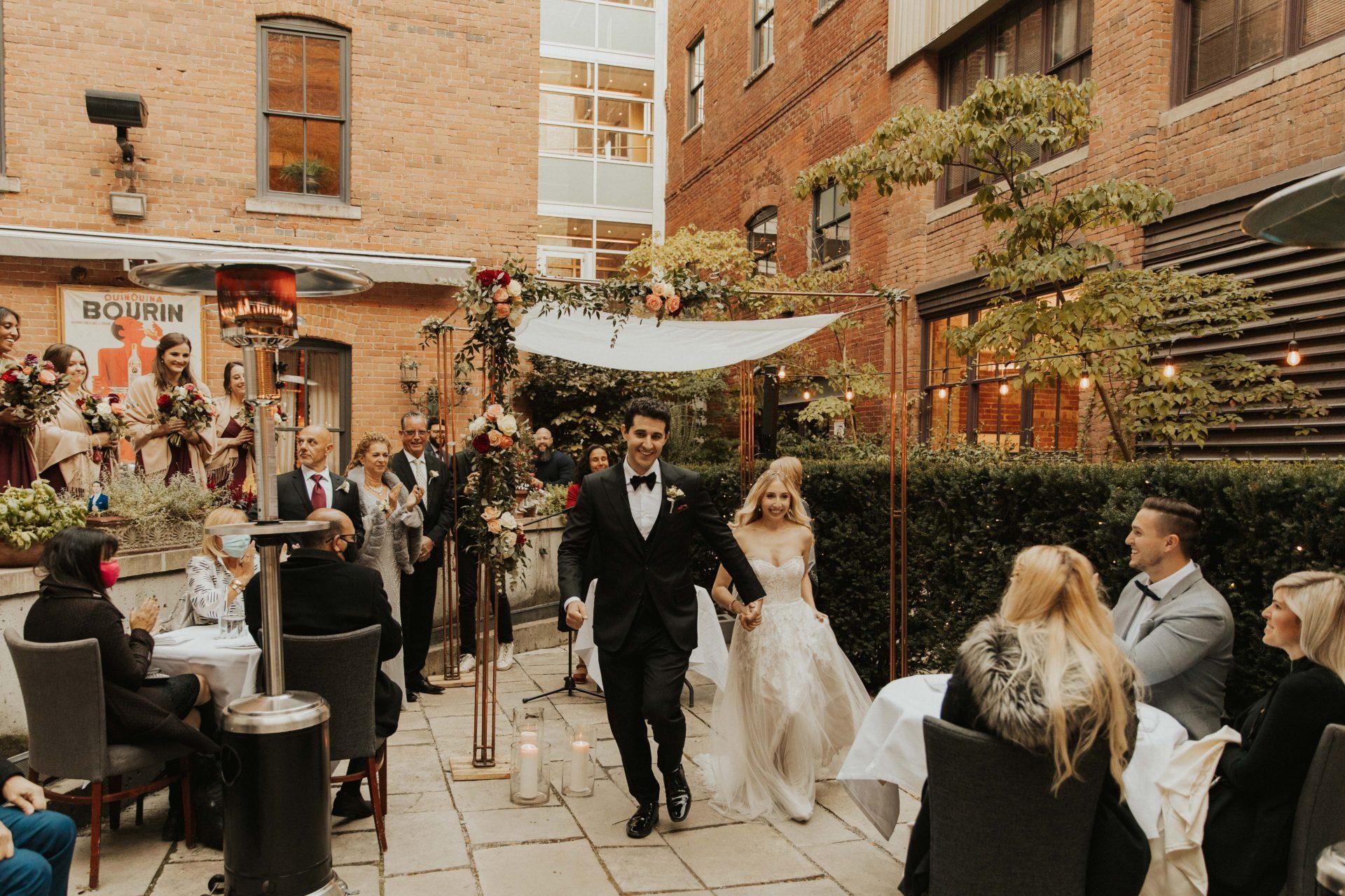 George restaurant wedding photos toronto