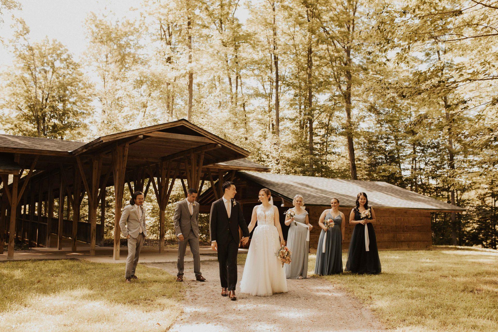 tiffin centre for conservation wedding photos