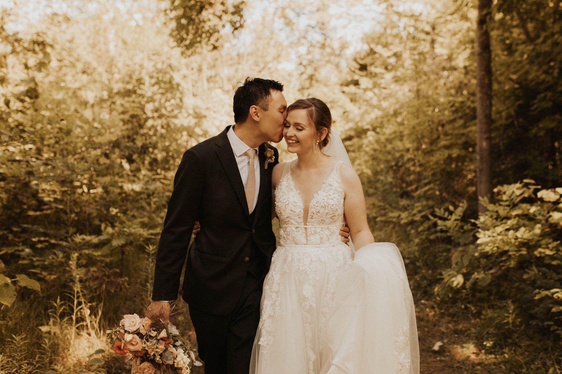 tiffin centre wedding photos