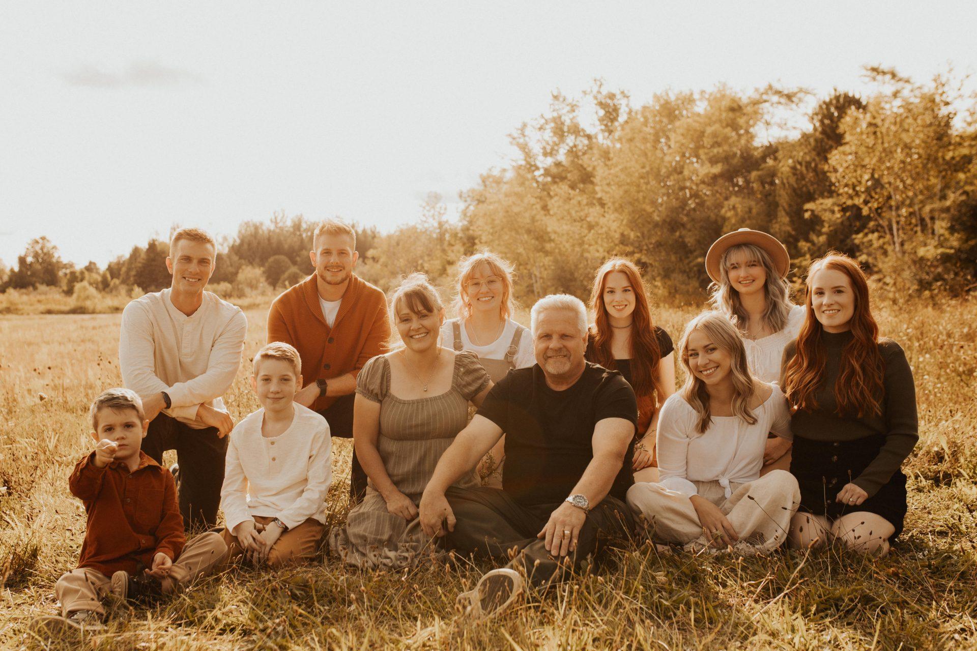 toronto family photos in the fall