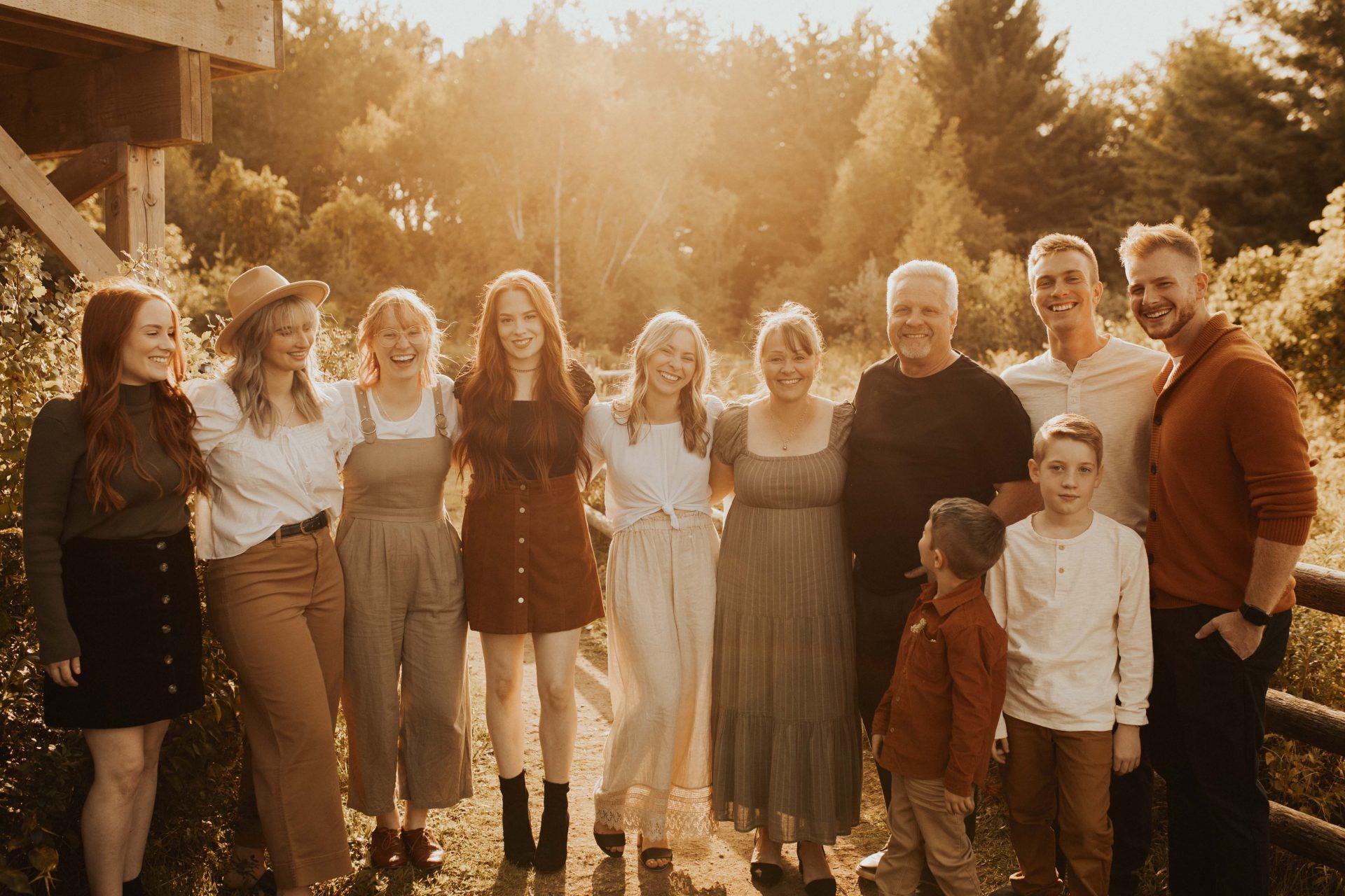 fall family photos in toronto